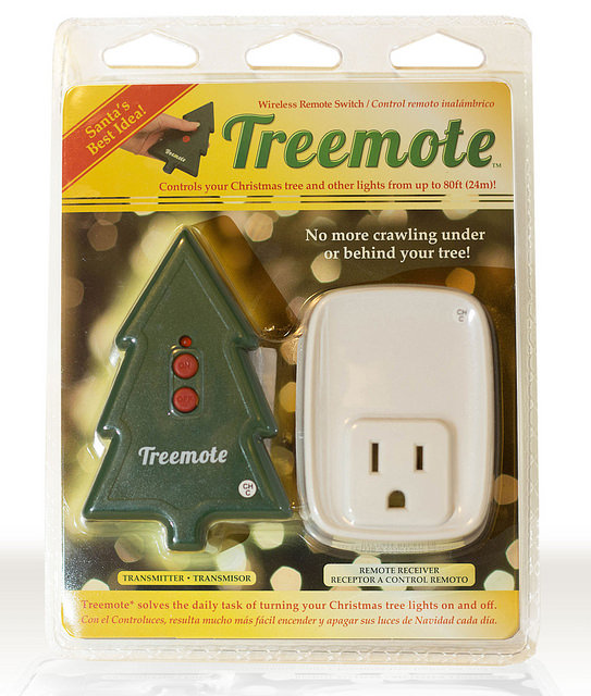 eliminate the need for your loved one to reachand possibly fallbehind holiday decorations to turn them on and off the treemote wireless remote control - Christmas Gifts For Older Parents