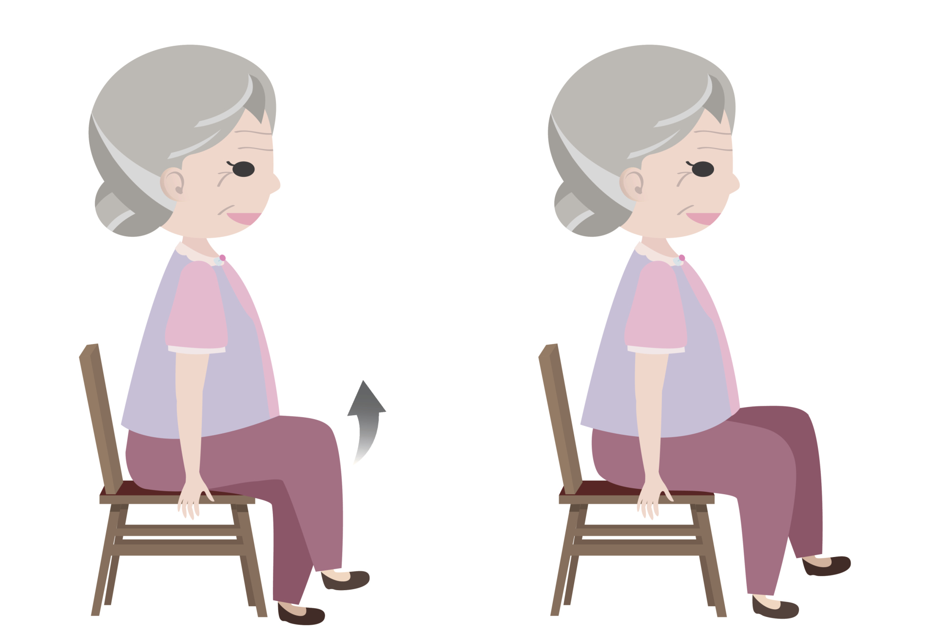 Chair exercises for seniors - 2 Seated March