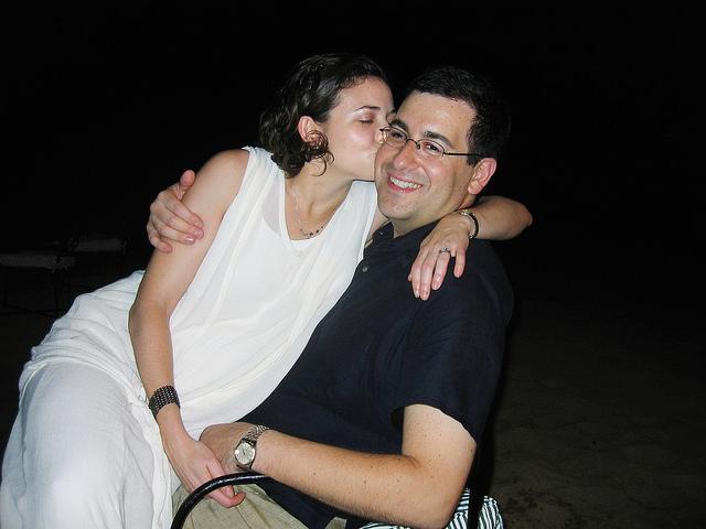 Sheryl Sandberg and Dave Goldberg