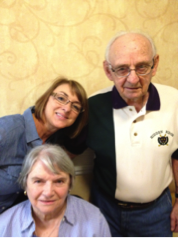 Dr. Sally Brooks with her parents
