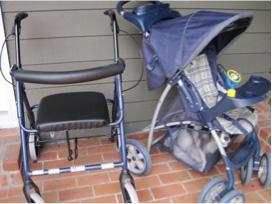walker and stroller